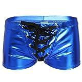 YiZYiF Men's Underwear Boxer Briefs Wetlook