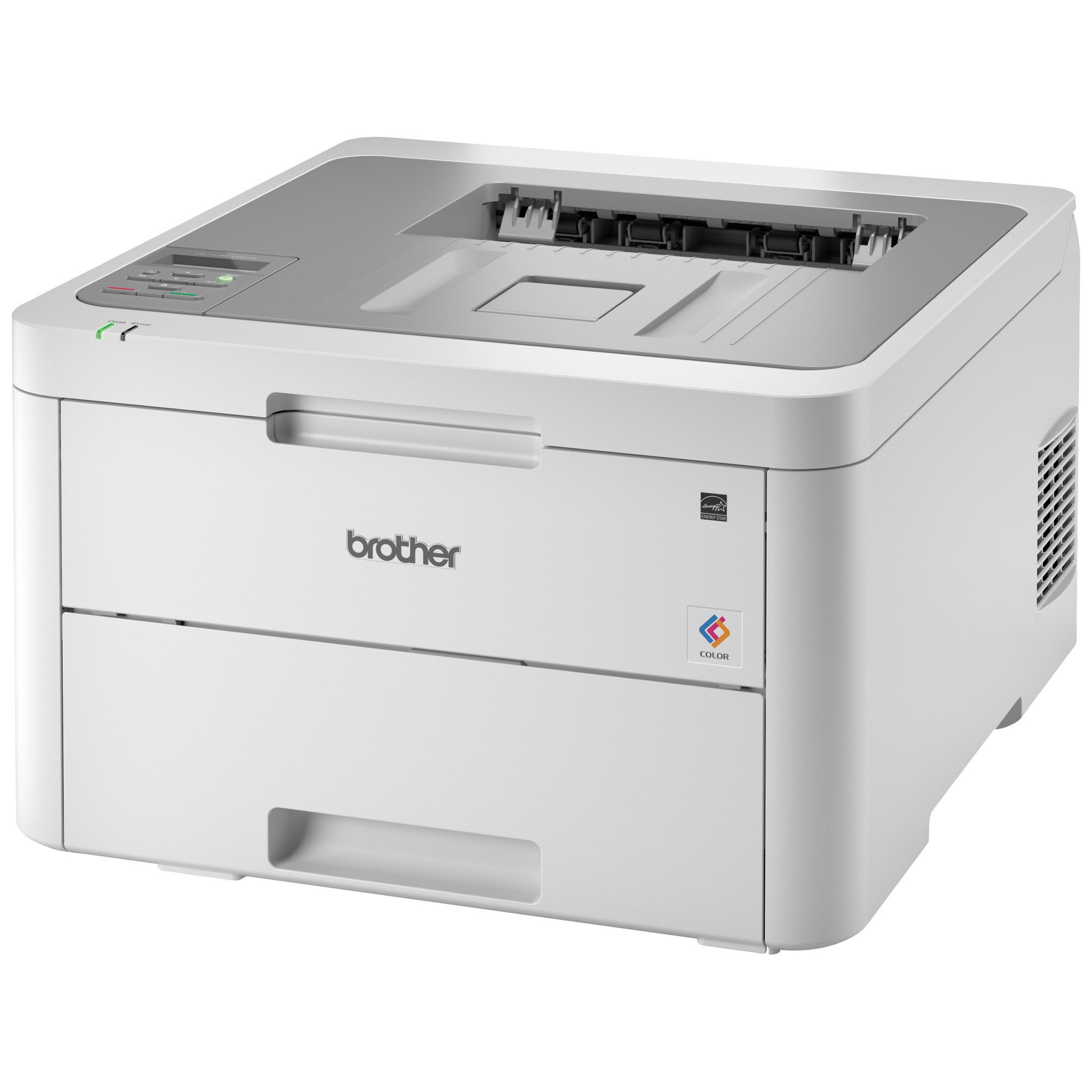 Brother HL-L3210CW Compact Digital Color Printer Providing Laser Printer Quality Results with Wireless, Amazon Dash Replenishment Enabled, White by Brother (Image #3)