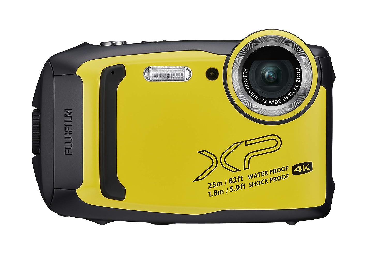 Fujifilm FinePix XP140 - Cámara Digital compacta, Color Amarillo ...