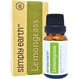 Lemongrass Essential Oil by Simply Earth - 15 ml, 100% Pure Therapeutic Grade