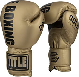 Title Boxing Gold Series Select Training Gloves