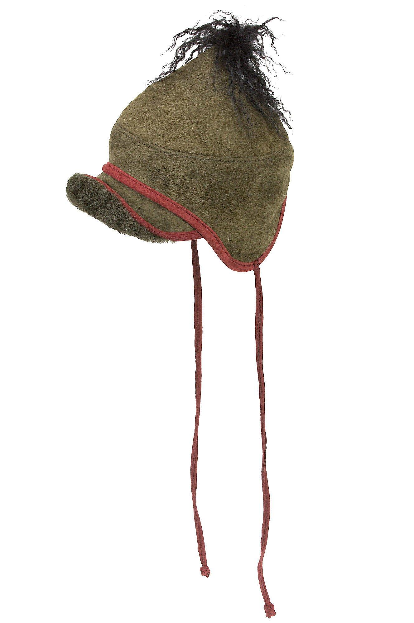 Overland Sheepskin Co. Tibetan Shearling Sheepskin Trapper Hat