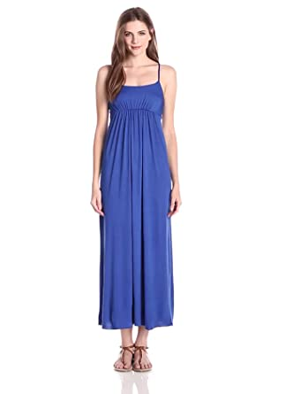 Empire waist maxi dress for women