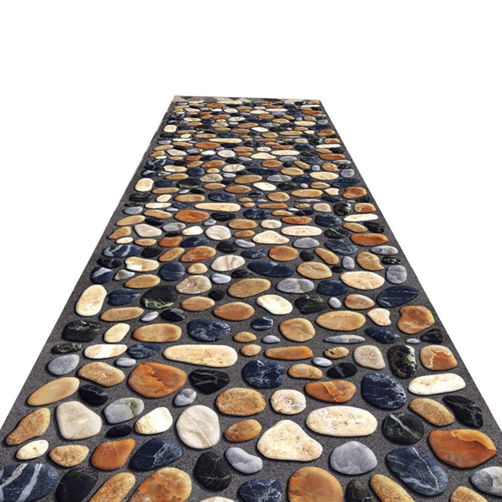 A LYQZ Tapis Coureur Tapis de Couloir à Long Terme Tapis antidérapant Facile à Nettoyer, Couloir coupé Couloir (Couleur   A, Taille   1.2  2m) 1.22m