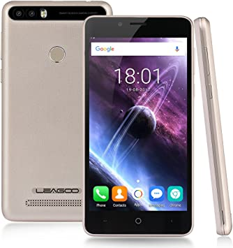 Leagoo Kiicaa Power - 3G Smartphone Libre (Android 7.0, 5.0