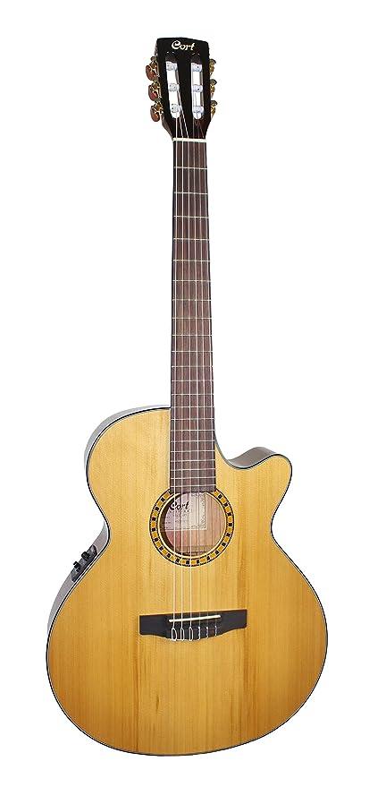 Cort CEC-5 - Guitarra electroacústica (calibre de cuerdas: 28-43)