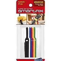 Fitas para Agrupamento - 17 cm, Smartfix, 5130, Sortida, pacote de 6