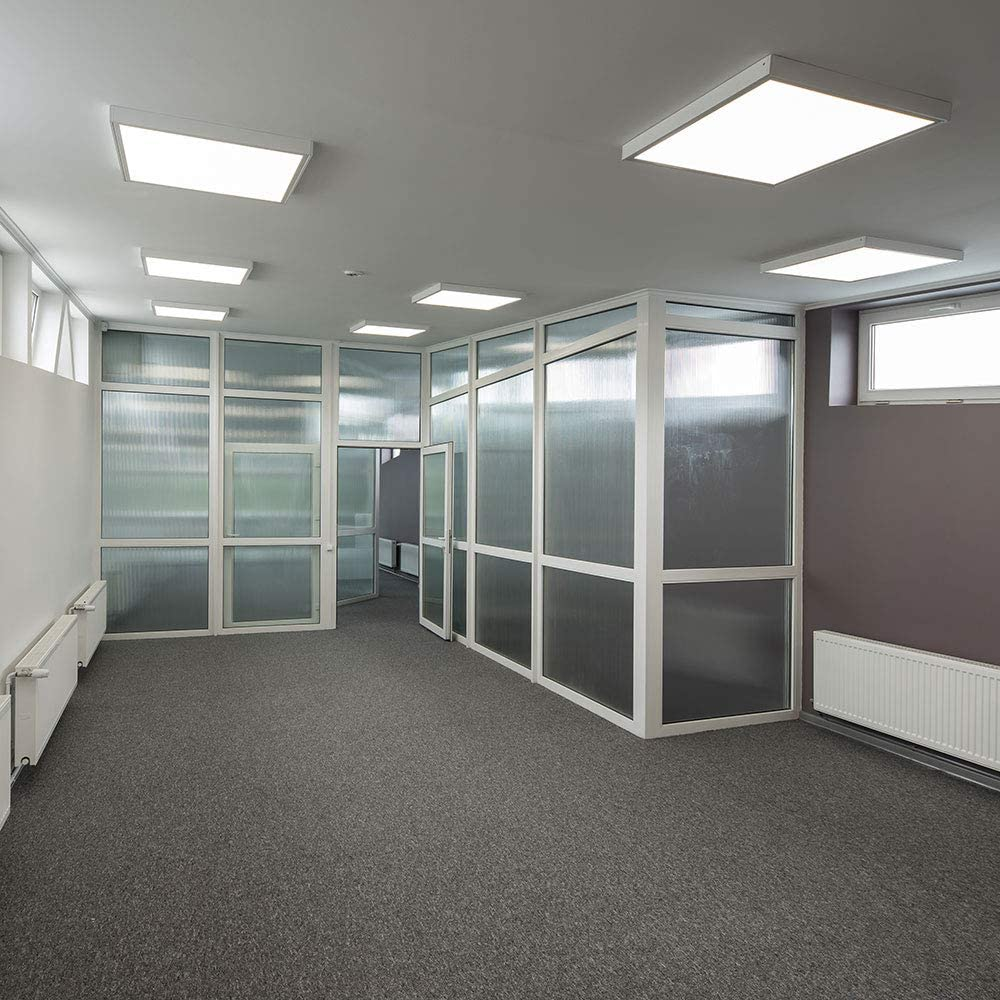 LED Aufbau Panel Decken Strahler Leuchte Schlaf Zimmer Raster ALU Lampe Ultra Slim vtac4920
