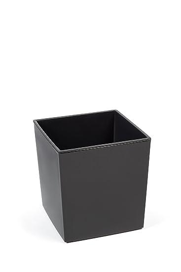 Kreher XXL Design Pflanzkübel aus Kunststoff in Hochglanz Grau mit ...