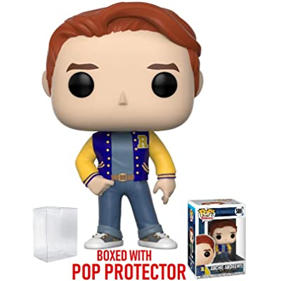 Funko Pop! Television: Riverdale - Archie Andrews Vinyl Figure (Includes Pop Box Protector Case): Toys & Games