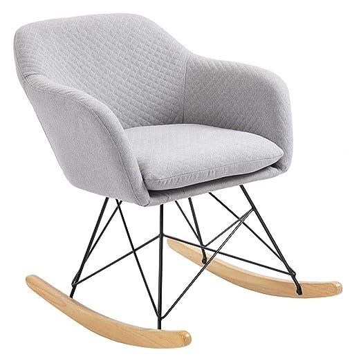 IDIMEX ADELANO Rocking Chair Relax - Silla Mecedora con ...