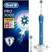 Oral-B PRO 3000 CrossAction Elektrische Zahnbürste, mit visueller Andruckkontrolle