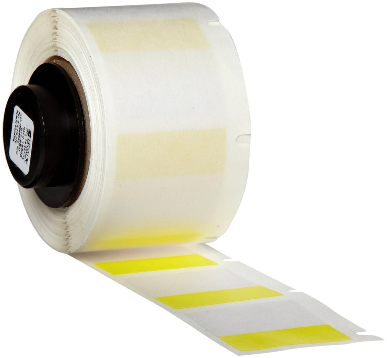 Matte Finish White//Translucent Label 250 per Roll Brady PTL-102-427 TLS 2200 and TLS PC Link 0.5 Width x 1.25 Height B-427 Self-Laminating Vinyl