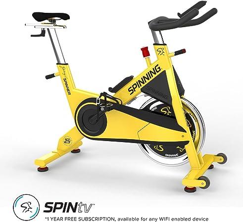 Spinner Johnny G Spin Bicicleta Active Serie – Amarillo: Amazon.es ...