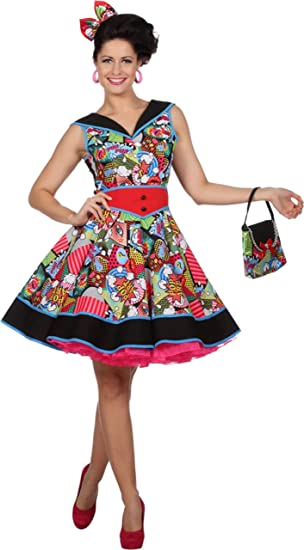 WILBERS & WILBERS Disfraz de Pop Art Jenny para Mujer M: Amazon.es ...