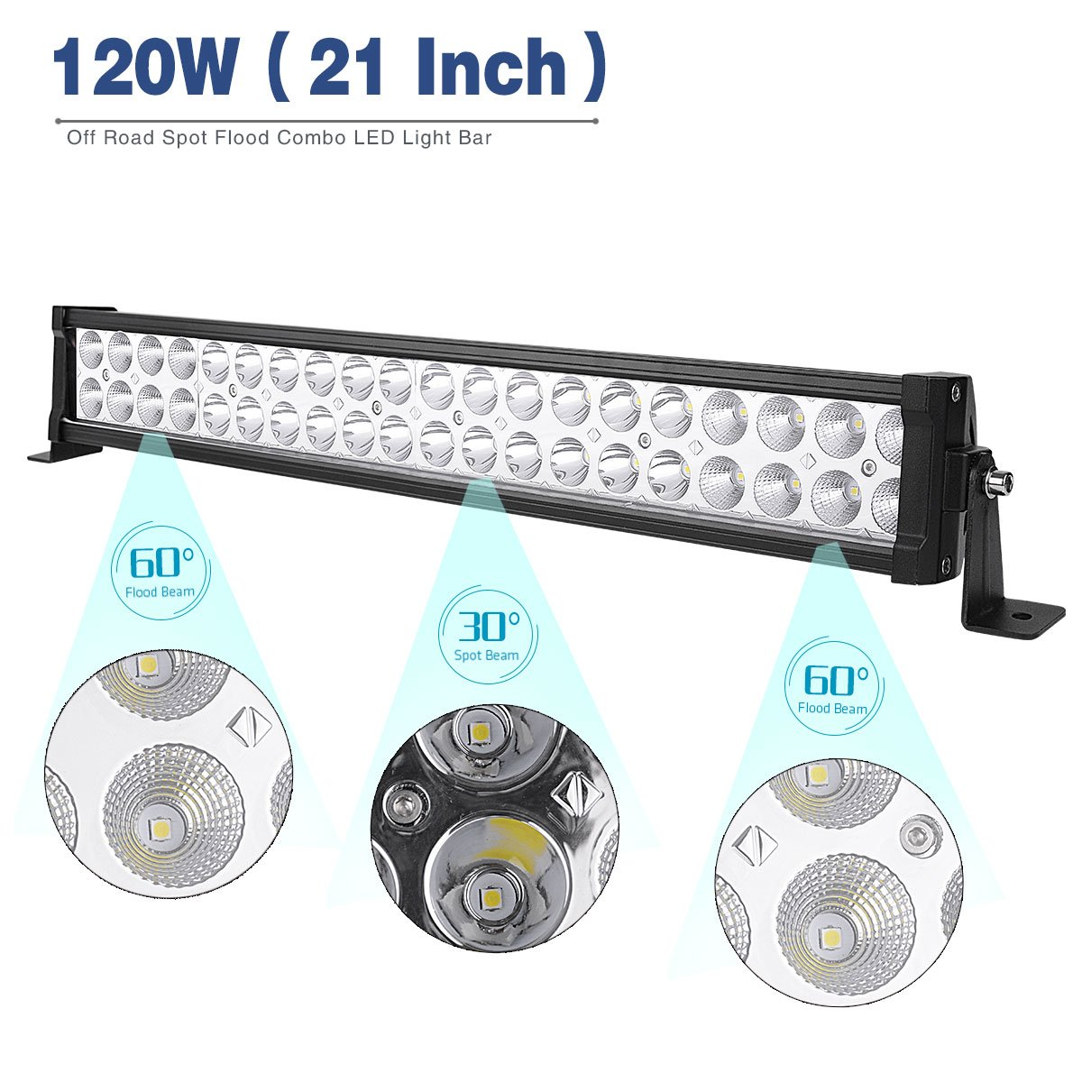 Amazon.com: LED Light Bar YITAMOTOR 24 Inch Light Bar Offroad Spot ...