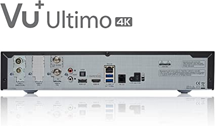 Vu Ultimo 4 K 1x Dvb S2 Fbc Twin 1x Dvb C T2 Tuner Pvr Ready Linux Receiver 2160p Home Cinema Tv Video