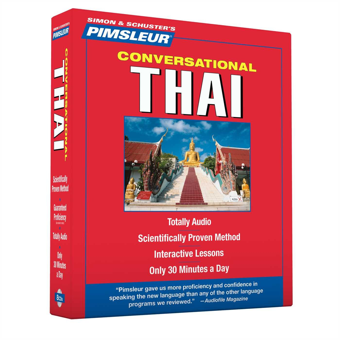 Pimsleur Thai Conversational Course - Level 1 Lessons 1-16 CD: Learn to Speak and Understand Thai with Pimsleur Language Programs by Pimsleur