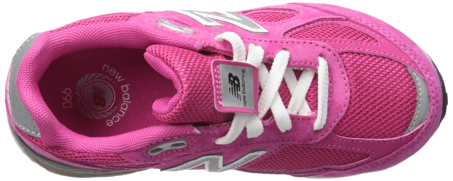 New Balance KJ990V4 Running Shoe , Pink/Pink, 1 M US Little Kid by New Balance (Image #8)