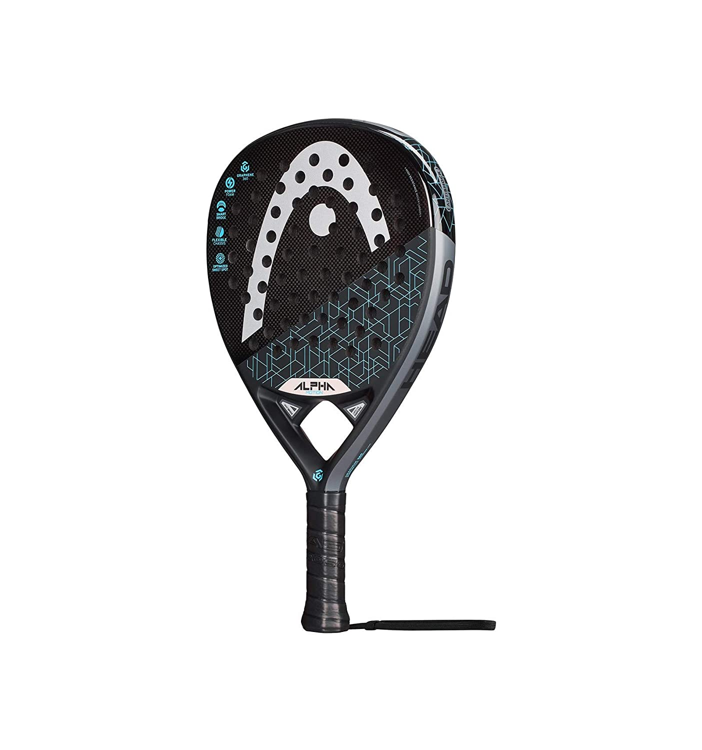 Head Pala Graphene 360 Alpha Motion 2019, Adultos Unisex, Negro ...