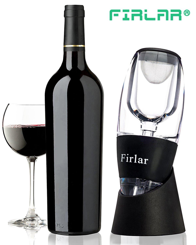 aniversario cumplea/ños Regalo de Vino,accesorios de vino para aireador de vino,Decanter Pourer Difusor Wine Aerator Decantador parejas /Único D/ía de San Valent/ín Para,Amigo