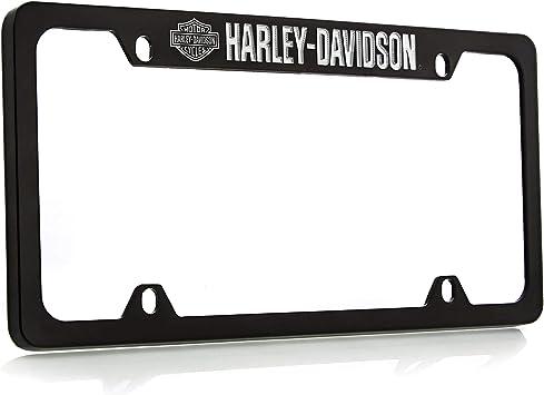 Bar /& Shield Logo Metal Harley Davidson License Plate