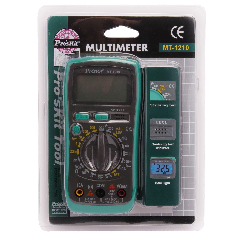 Eclipse Tools MT-1210 Pro'sKit Multimeter, Digital