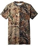 Russell Outdoors Mens Realtree AP Camo Short Sleeve Explorer Shirt w/ Pocket M L XL 2XL 3XL