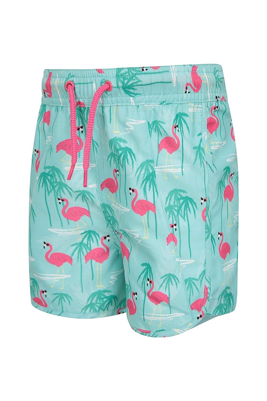 Kids Beach Swim Pants Mountain Warehouse Girls Board Shorts