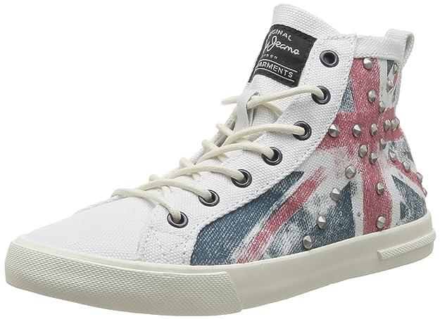 Pepe Jeans London BARR-296 A PLS30009 815 Damen Sneaker