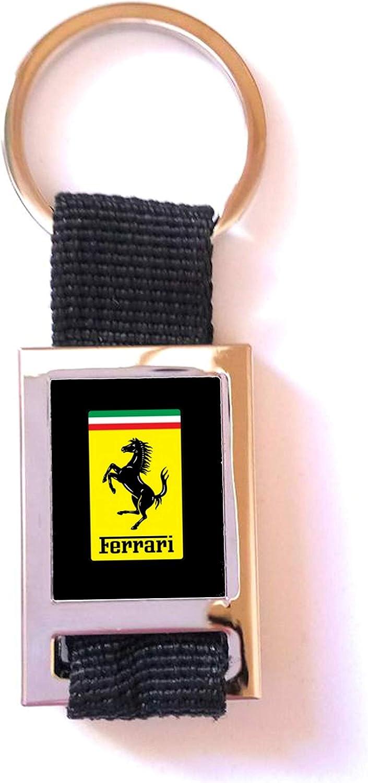 Metal//Tissu Porte-cl/és Sport GT Ferrari Noir