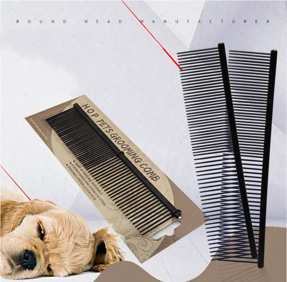 XXL Stainless Steel Pet Comb, 19 cm/7 inch
