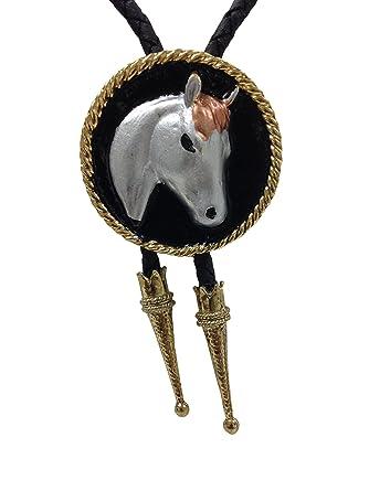 Cowboy corbata Escudo con caballo: Amazon.es: Ropa y accesorios