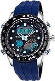 Wrath Bold Blue Diver's Analog & Digital Luxury Watch for Men & Boys