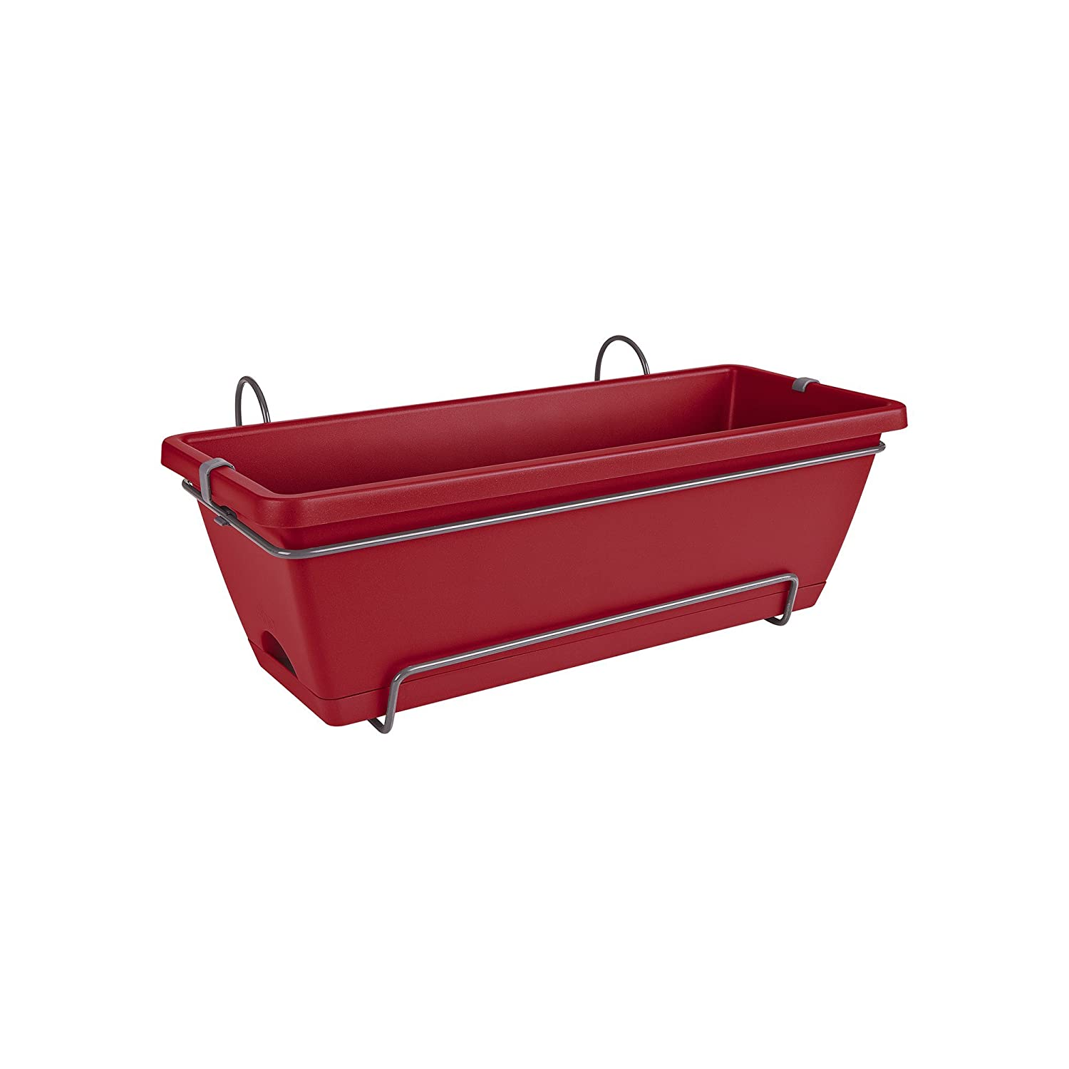 Elho Barcelona all-in-One Fioriera, Mirtillo Rosso, 50 x 28.6 x 21.4 cm 5011805070500
