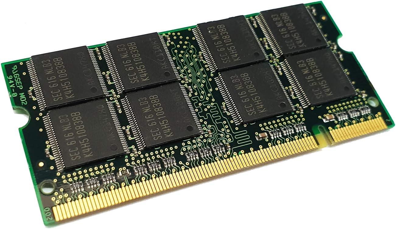 dekoelektropunktde 1GB RAM Memoria DDR1Memory SODIMM para Compaq EVO NX7000, NX7010, NX 7000, NX 70