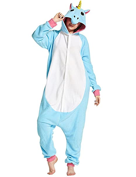 aceshin Pijama Unicornio Animal Mujer Entero Disafaz Cosplay para Adultos