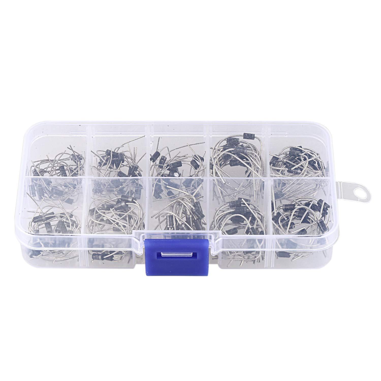 HX 1Pc 3 Layer 18 Compartments Plastic Adjustable Box Storage Case Holder