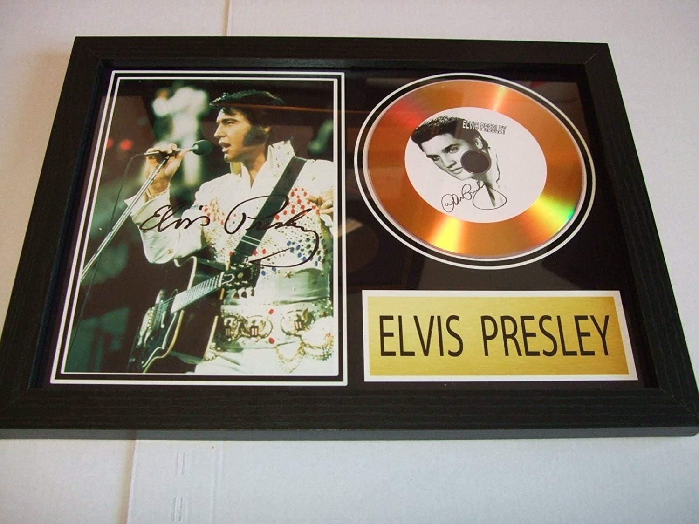 SGH SERVICES New CD Photo d/édicac/ée Elvis Presley Aloha de Hawa/ï