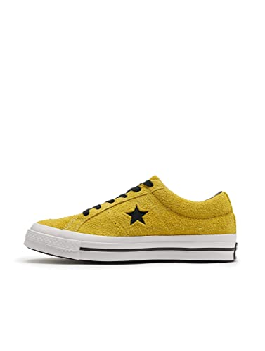 bd10afe2fc Amazon.com | Converse Men's Dark Star Vintage Suede Oxford Sneakers, Bold  Citron/Black, 11 M US | Fashion Sneakers