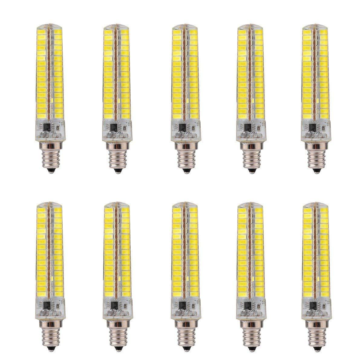 FuweiEncore Light Dimmbar E12 7W 136 SMD 5730 600-700 LM Warm Weiß Kaltweiß Maisbirnen AC 110V   AC 220V (Farbe   Warmes Weiß, Großauswa  220v) (Farbe   Warmes Weiß, Größe   110V)
