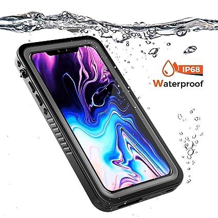 sale retailer 06fd4 c84db Amazon.com: Mpaltor iPhone 9 Plus Case Shell Waterproof, Slim Shell ...