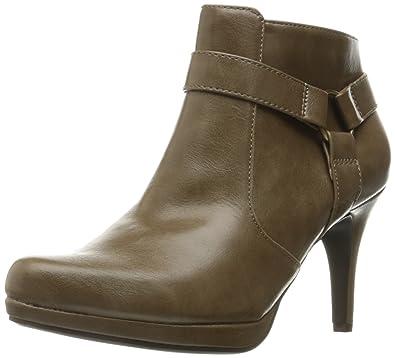 LifeStride Women's Xtina Ankle Bootie, Putty, ...