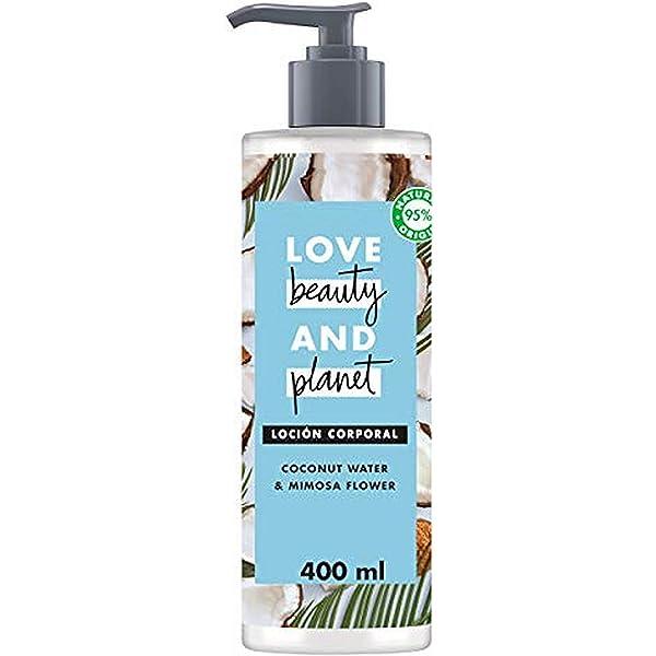 Love Beauty and Planet Loción corporal agua de coco y flor de ...
