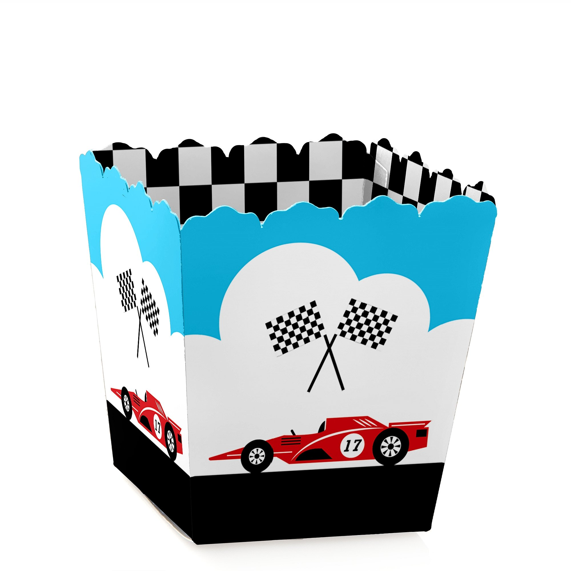 GOAAAL! Set of 12 Soccer Baby Shower or Birthday Party Favor Popcorn Treat Boxes
