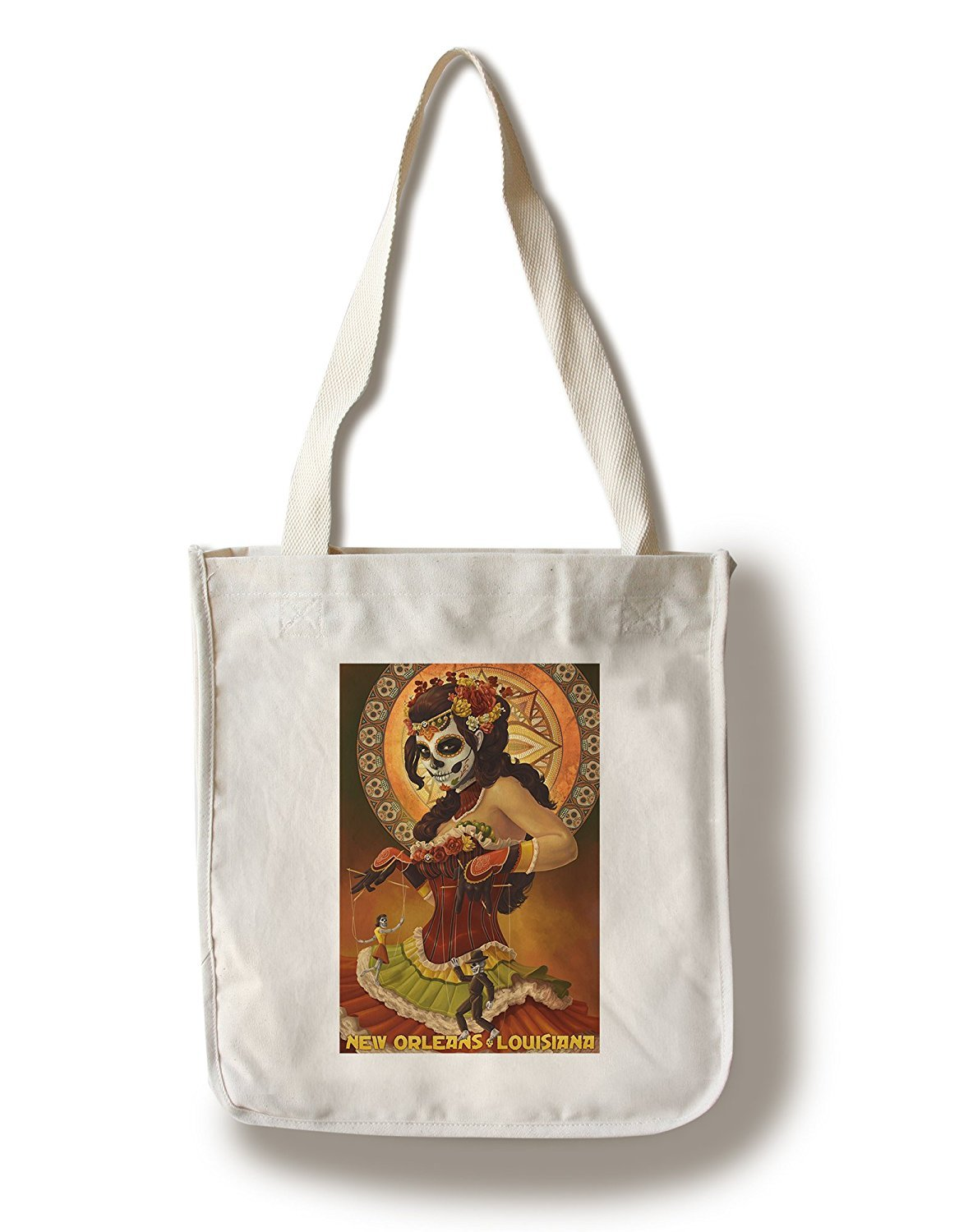 【保存版】 Dia Metal De Los Muertos Tote Marionettes B01841R3YC – ニューオーリンズ、ルイジアナ州 12 x 18 Metal Sign LANT-42785-12x18M B01841R3YC Canvas Tote Bag Canvas Tote Bag, 東成区:d21d1293 --- arianechie.dominiotemporario.com