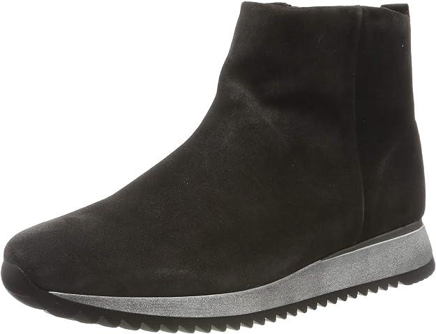 Gabor Shoes Women's Comfort Basic Low-Top Sneakers, Grey (Dark-Grey (Micro) 39), 4 UK,Gabor Shoes,36.570.