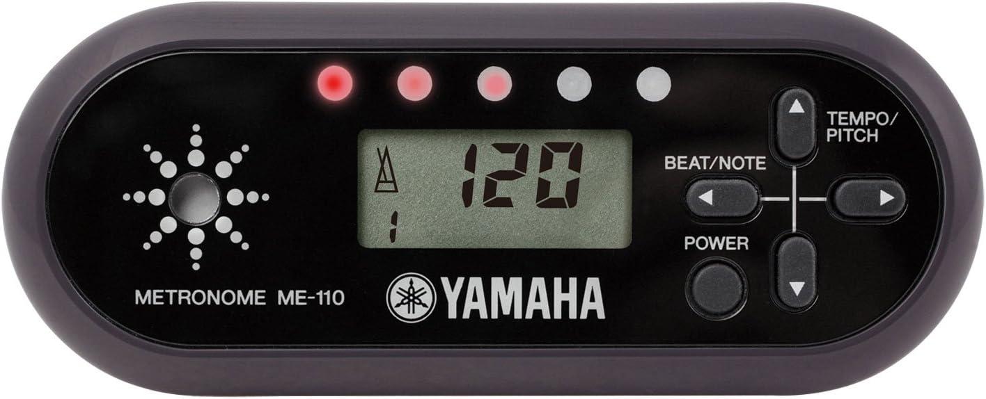ヤマハ YAMAHA デジタルメトロノーム ブラック ME-110BK