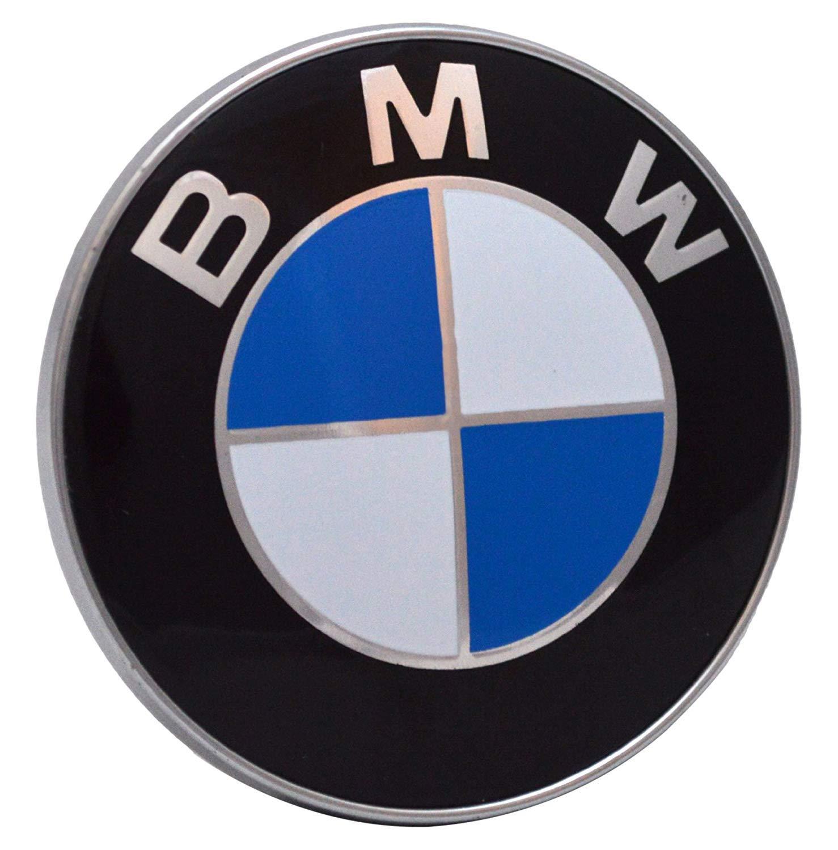 Hirido BMW Embl/ème pour Capot et Coffre 82 mm 74 mm Logo Avant arri/ère Bonnet Boot pour la s/érie BMW