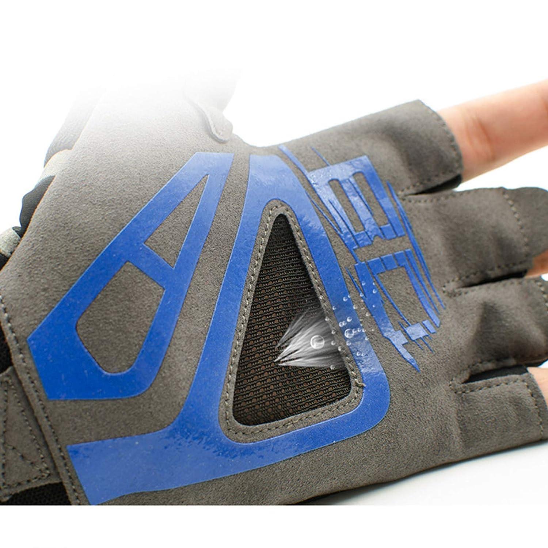 Adisaer Herren Fitness Handschuhe Sport Rutschfeste Silikon Atmungsaktive Komfort Fitness Handschuhe Size